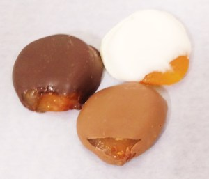 Chocolate Dipped Peaches