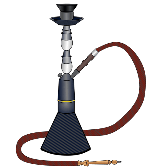 An image of a hookah which is one of the best ways to smoke weed.