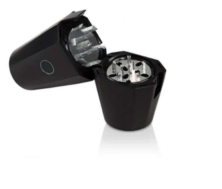 OTTO grinder product image. White background of electric weed grinder