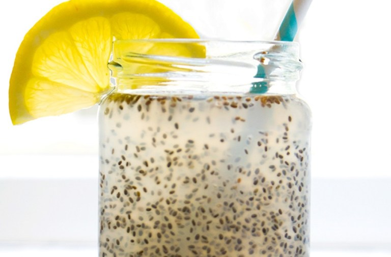 Try Tribe's Citrusy CBD Chia Water Recipe