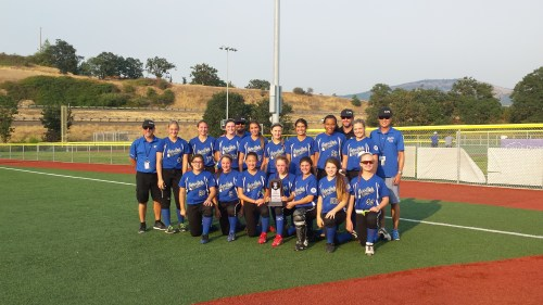 The Capo Girls Softball 14U All-Star team finished fifth at the ASA 14B Western National Tournament on Aug. 3. Courtesy photo