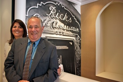 """San Juan Capistrano residents Robert Kline and Stephanie Heredia are hosting the 12th annual """"A Night at the Oscars"""" event on Feb. 24. Photo: Brian Park"""
