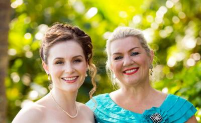 Fiona Briggs, left, and her mother, Kirsten Thomas, have launched an online non-toxic skin care company. Photo: Courtesy of Fiona Briggs