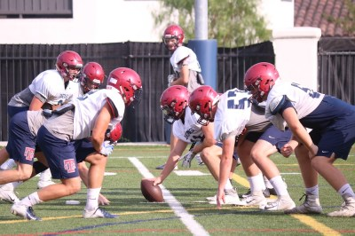 St. Margaret's line play will be crucial as the Tartans compete against bigger schools in Division 6. Photo: Zach Cavanagh