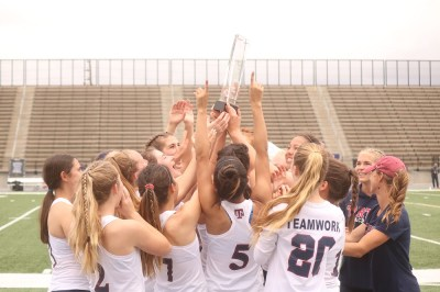 The St. Margaret's boys and girls lacrosse teams swept the Orange County Championships, and the Tartans girls won the CIF-SS championship. Photo: Zach Cavanagh