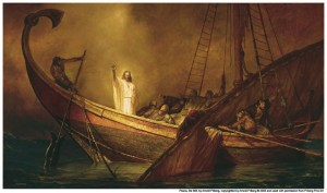 Jesus Calms the Storms