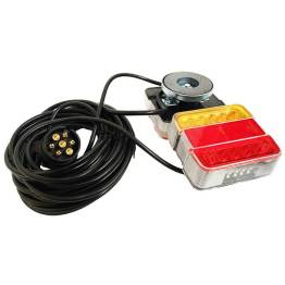 caravan accessories magnetic tow lamps led