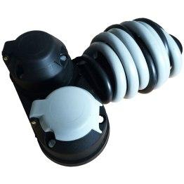 caravan accessories twin towing socket plate