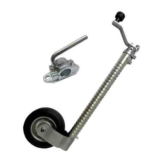 caravan accessories jockey wheel serrated