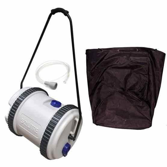 caravan accessories caravan water roller 52 litre & bag