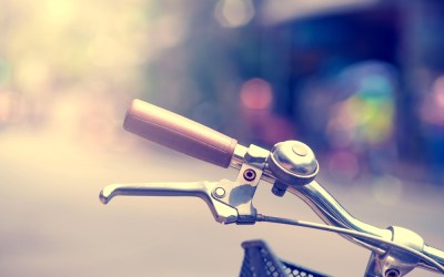 What keeps me going: biking around town