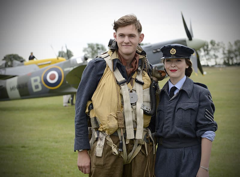 Military themes are popular at the Goodwood Revival