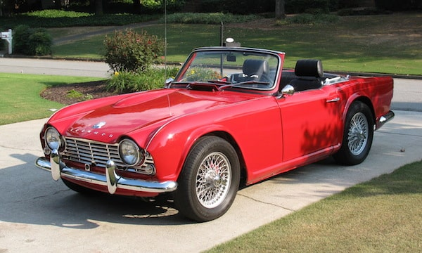 The Triumph TR4 is a good classic car and probably a good investment
