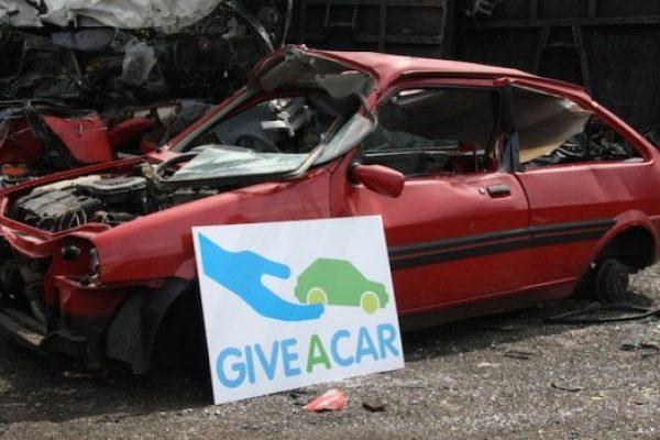 Giveacar scrap car charity