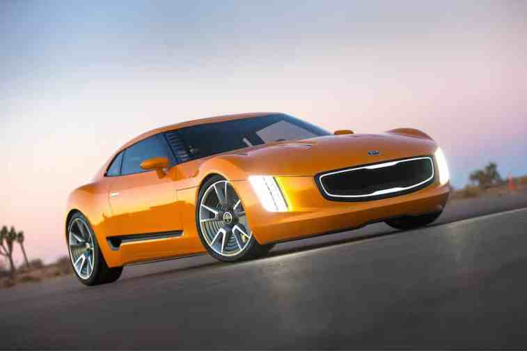 Kia GT4 Stinger concept car 01 (The Car Expert, 2014)