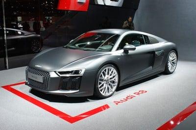 Audi R8, 2015 Geneva Motor Show