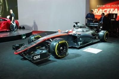 McLaren-Honda MP4-30, Geneva Motor Show 2015