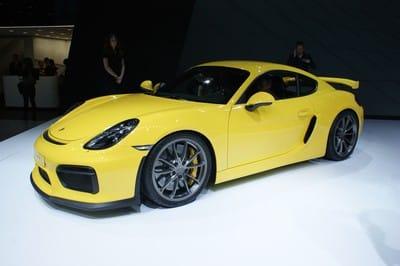 Porsche Cayman GT4, Geneva Motor Show 2015