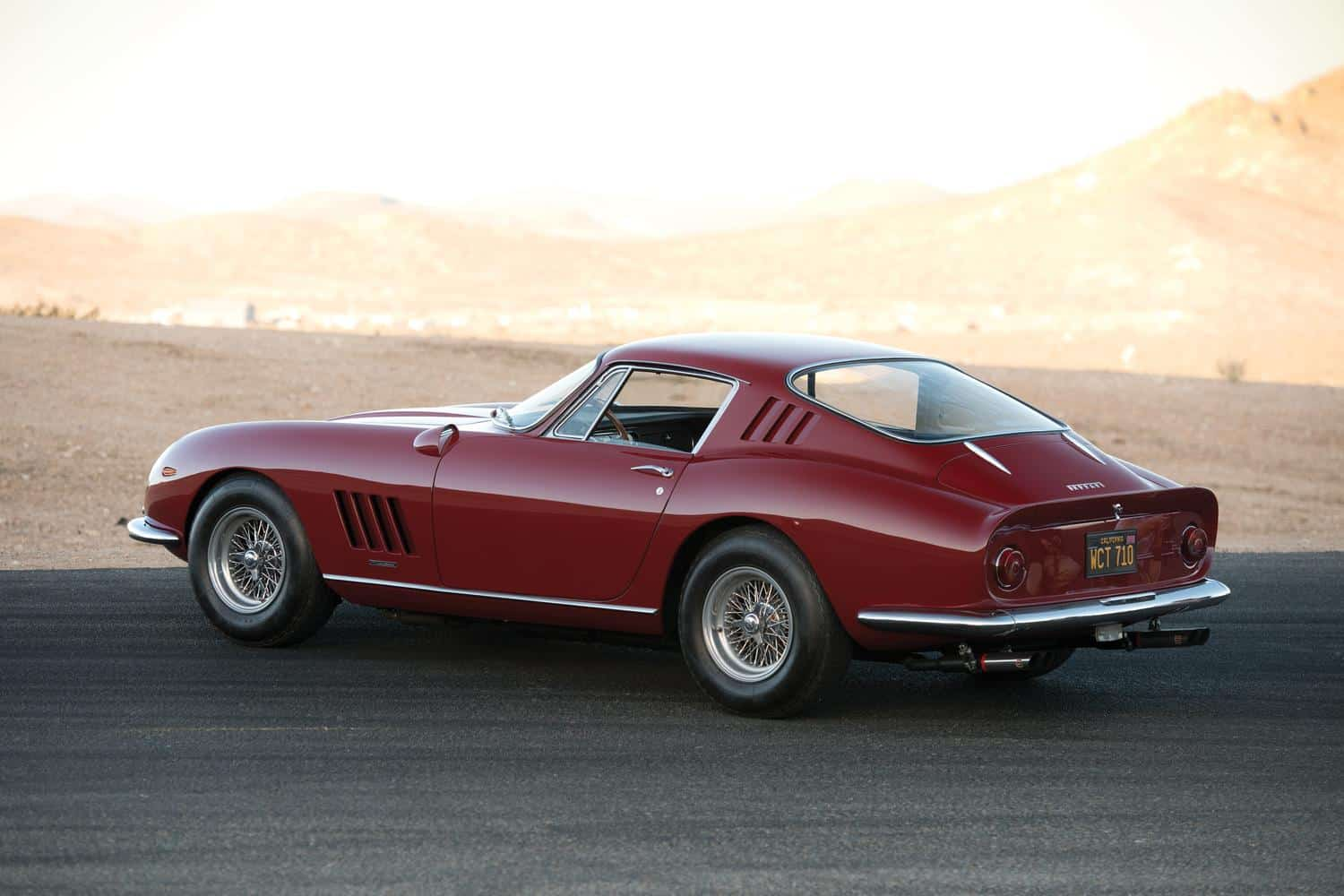 Steve McQueen once owned this Ferrari 275 GTB/4