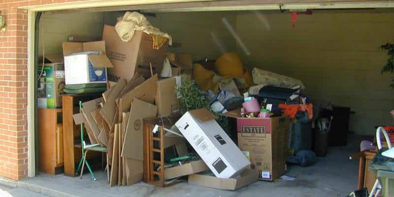 Car insurance is cheaper if you garage your car – so clear out the junk!