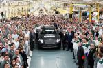 First Bentley Bentayga SUV rolls off the production line