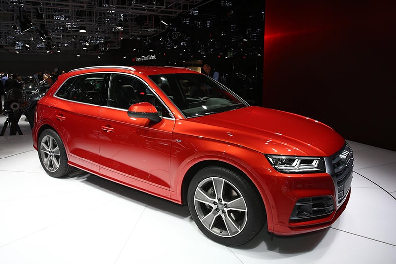 Second-generation Q5 will take on BMW's X3.