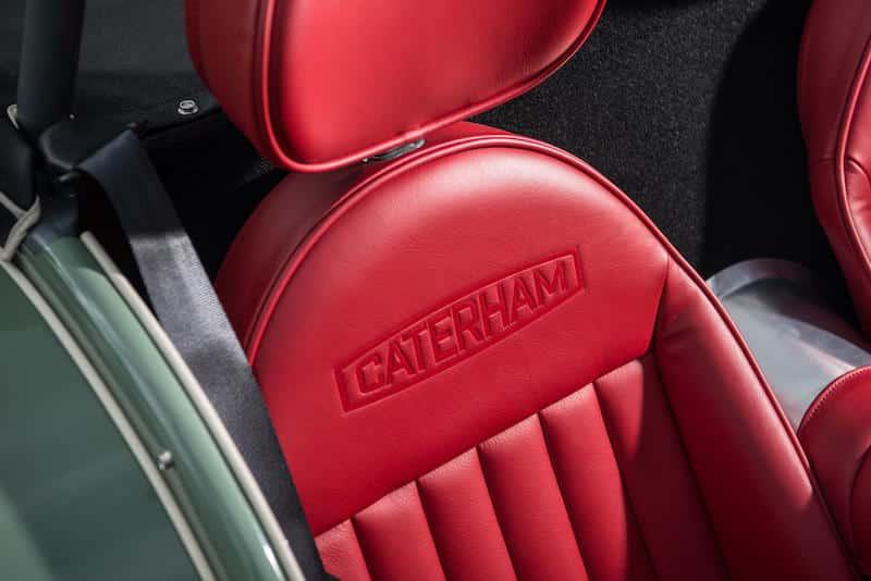 Caterham Seven Sprint interior 02