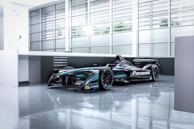 Panasonic Jaguar Racing I-Type 1 Formula E racing car
