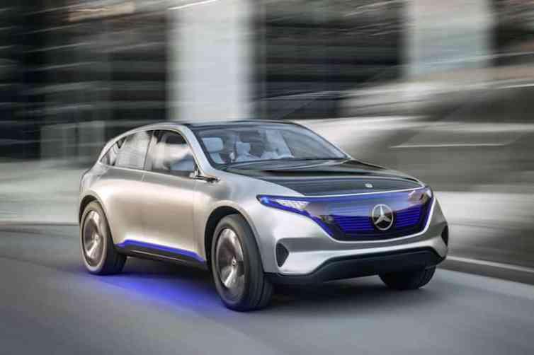 Mercedes-Benz Generation EQ, Paris Motor Show 2016, exterior front