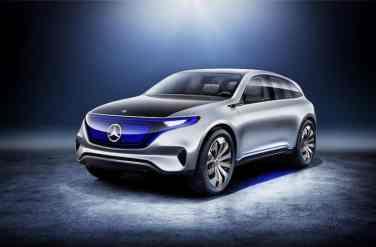 Mercedes-Benz Generation EQ, Paris Motor Show 2016, studio front