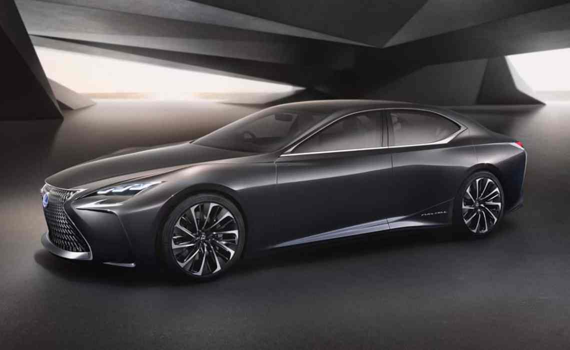 The Lexus LC is widely expected to be based on the LF-FC concept shown at Tokyo in 2015.