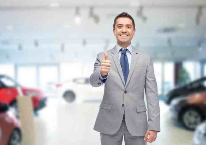 A car salesman is not your friend, no matter how much he is smiling