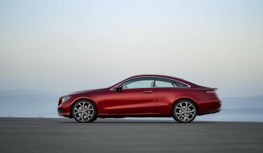 New Mercedes-Benz E-Class coupe 03