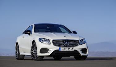 New Mercedes-Benz E-Class coupe 10