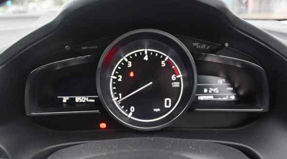 Mazda3 dash