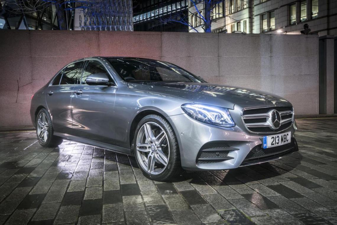 Mercedes-Benz E-Class Saloon wins UK Car of the Year 2017