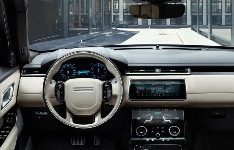 Range Rover Velar dash