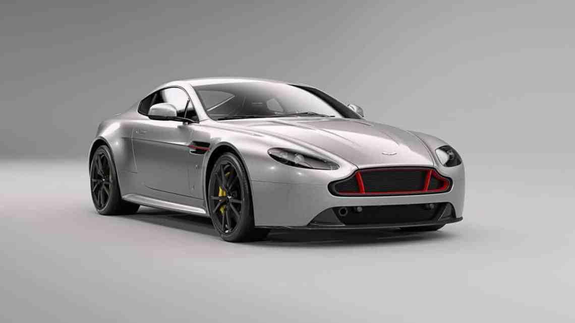 Aston Martin Vantage S Red Bull Racing Edition in Tungsten Silver