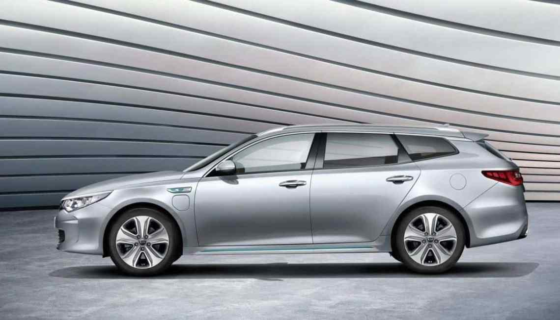 The second of Kias two new plug-in hybrids is the Optima Sportswagon