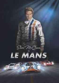 Steve McQueen in Le Mans - cover