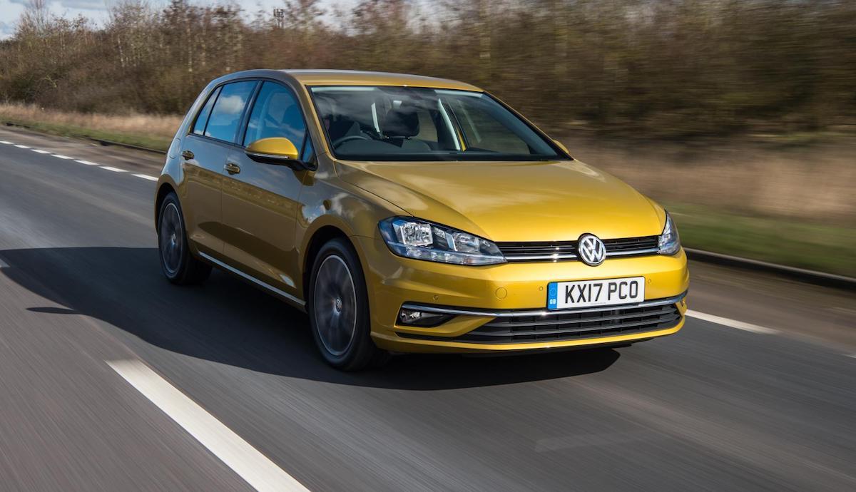 Volkswagen Golf, best-selling car in the UK June 2017