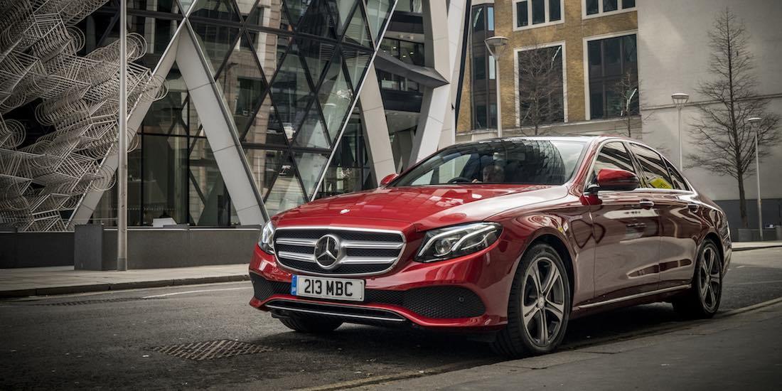Mercedes-Benz E-Class saloon in London
