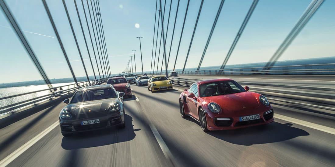 Porsche range July 2017