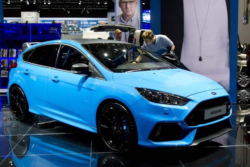 Ford Focus RS Edition at the 2017 Frankfurt motor show