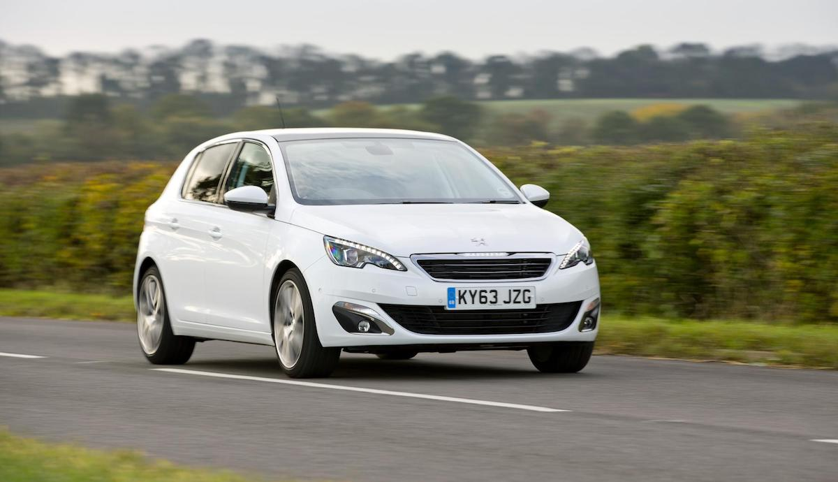 Peugeot 308 hatch (top ten safest used cars 2017)