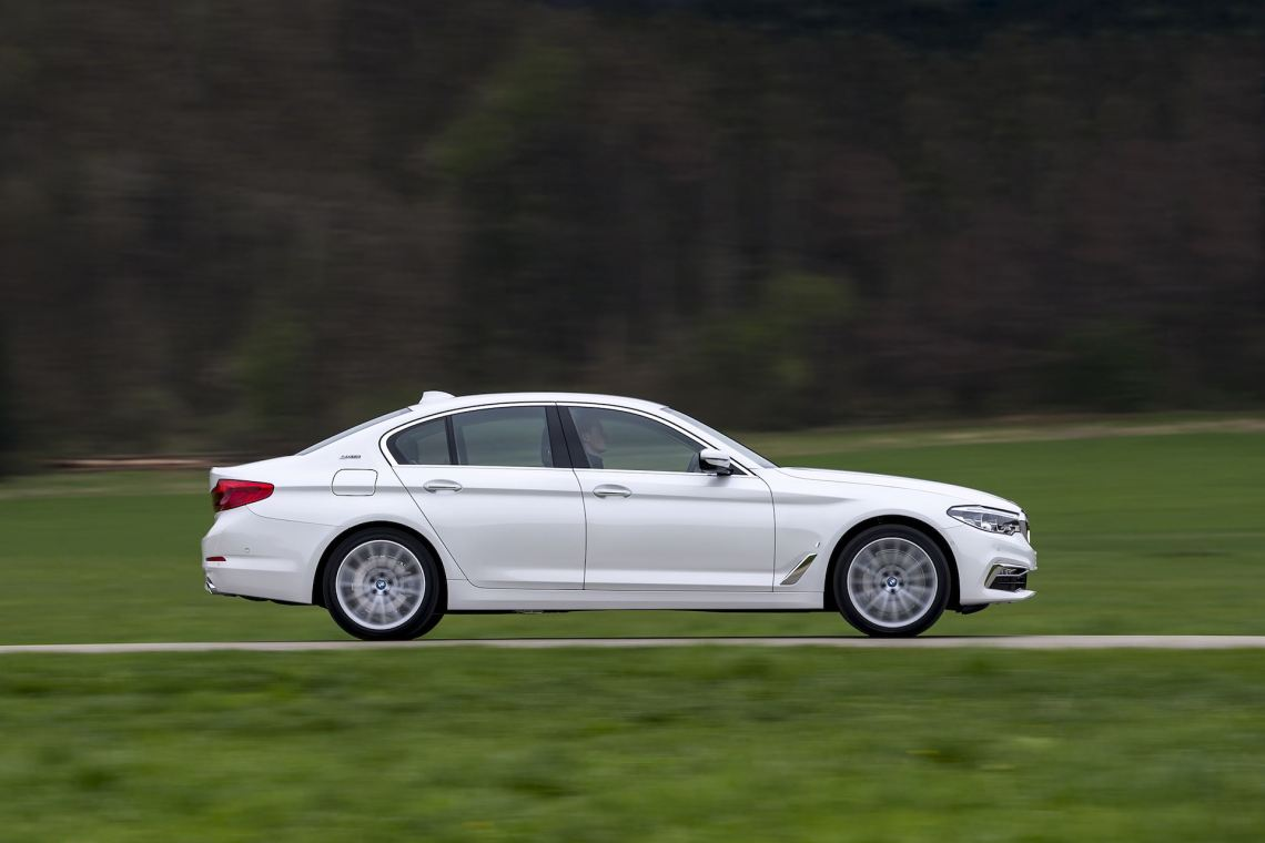 BMW 5 Series side profile | The Car Expert