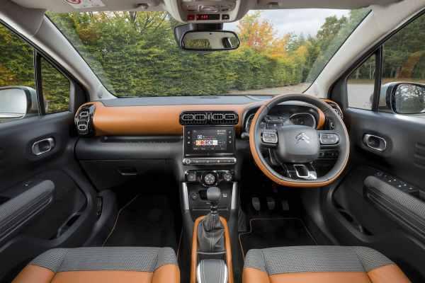 Citroen C3 Aircross dashboard (The Car Expert)