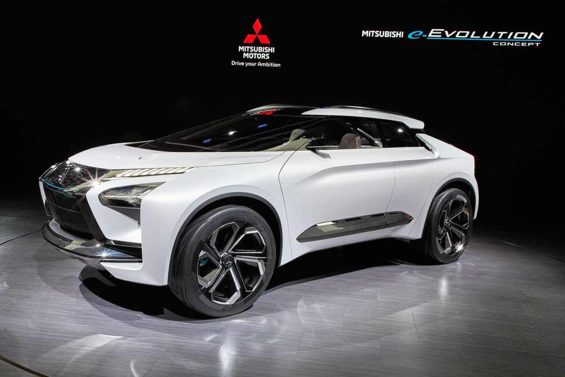 Mitsubishi E-Evolution concept The Car Expert