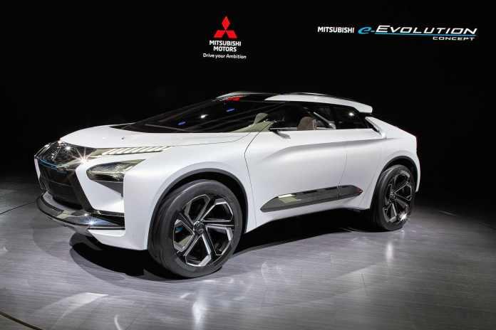 Mitsubishi E-Evolution concept The Car Expert