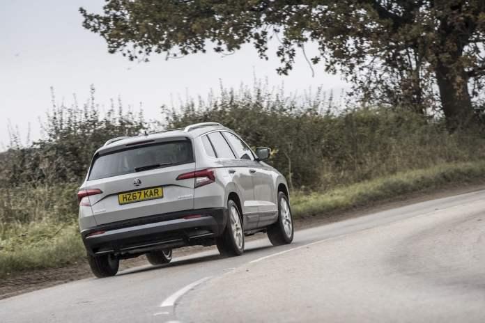 Skoda Karoq driving experience (The Car Expert 2018)